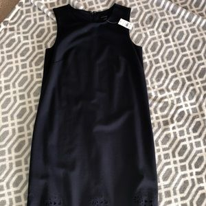 NWT Ann Taylor navy dress